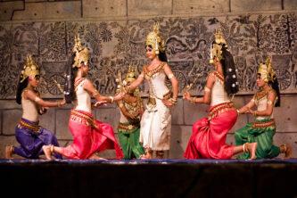 Apsara dance in Khmer culture